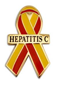 Hepatitis C ribbon