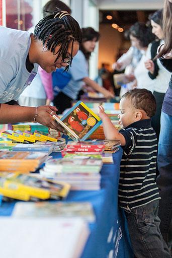 RIF, sharing books with children