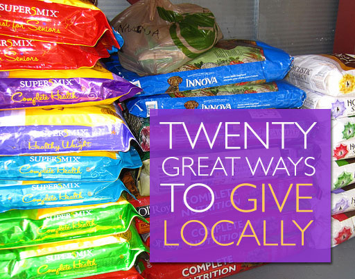 20 Great Ways to Give Locally