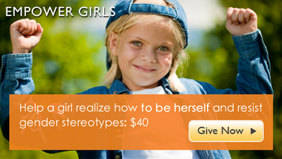 Help young girls become strong women