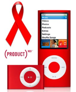 (RED) Campaign Apple iPods
