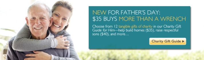 Father's Day Charity Gift Guide