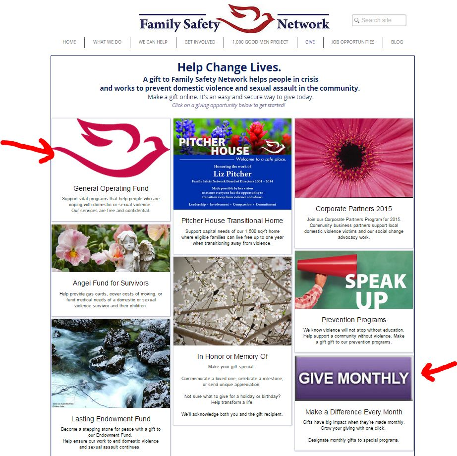 Visit this nonprofit's website and click through for the full experience.